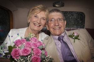 Our happy couple celebrating 50 years