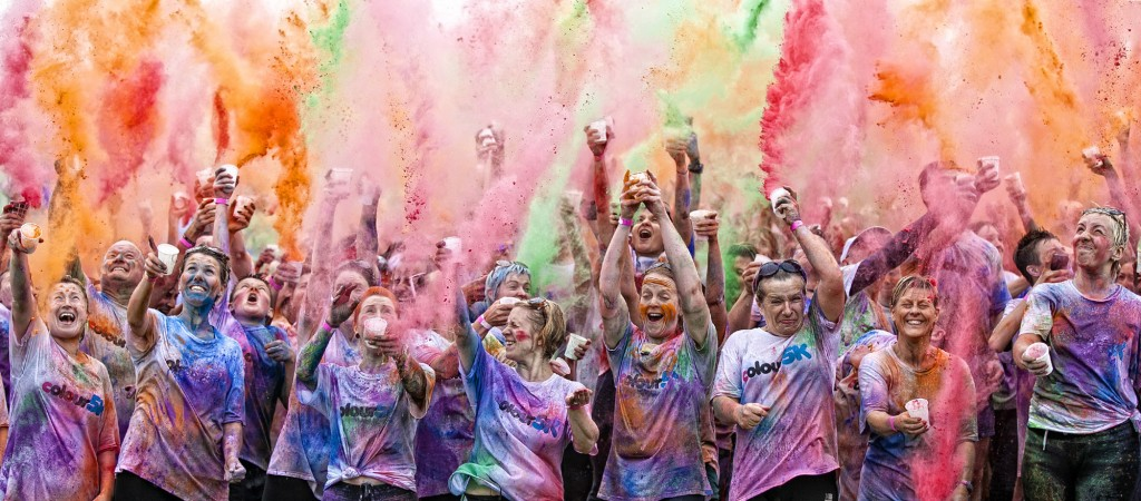 The Colour 5k Race
